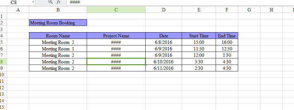 How to export excel with table (DayPilot Forums)